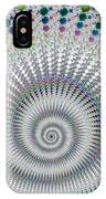 Amazing Fractal Spiral With Great Depth IPhone Case