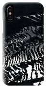 Amazing Rice Terrace In Black And White IPhone Case