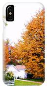 Amber Autumn Twins  IPhone Case