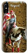 America -- Rodeo-style IPhone Case