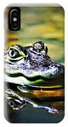 American Alligator 2 IPhone Case