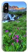 American  Basin Waterfall IPhone Case
