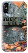 American Beech IPhone Case