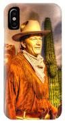 American Cinema Icons - The Duke IPhone Case