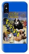 American Cocker Spaniel Art - Julius Caesar Movie Poster IPhone Case
