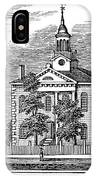 American Courthouse, 1844 IPhone Case