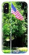 American Flag - Honoring John IPhone Case