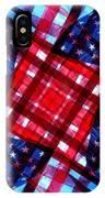 American Flag Kaleidoscope IPhone Case