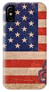 American Flag Made In China IPhone Case