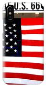 American Flag Route 66 IPhone Case