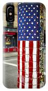 American Flag Tiles IPhone Case