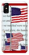 American Flag Tribute  IPhone Case