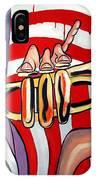 American Jazz Man IPhone Case