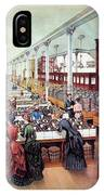 American Millinery, C1885 IPhone Case