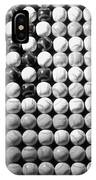 American Pastime In Black And White1 IPhone Case