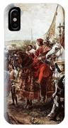 American Staffordshire Terrier Art Canvas Print  IPhone Case