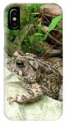 American Toad IPhone Case