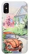 American Town IPhone Case