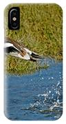 American Wigeon Taking Off IPhone Case