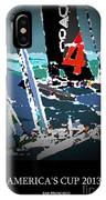 America's Cup 2013 Poster IPhone Case