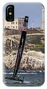 Americas Cup Oracle Team And Alcatraz IPhone Case