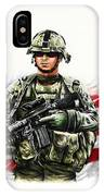 Americas Guardian Angel IPhone Case