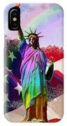 America's Statue Of Liberty IPhone Case