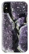 Amethyst Geode Pieces IPhone Case
