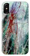 Amid The Falling Snow IPhone Case