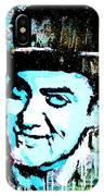 Amir Khan Dhoom 3 Pop Art By Minesh Pankhania IPhone Case
