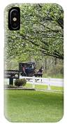 Amish Buggy At Riverbend Park IPhone Case