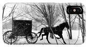 Amish Buggy Revised IPhone Case