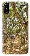 Among The Trees - The Mysterious Trees Of The Los Osos Oak Reserve IPhone Case