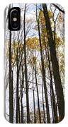 Amongst The Trees IPhone Case