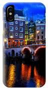 Amsterdam At Night II IPhone X Case