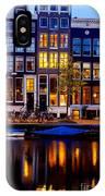 Amsterdam At Night IIi IPhone X Case