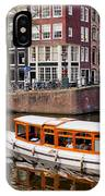 Amsterdam Canal And Houses IPhone Case