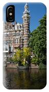 Amsterdam Canal Mansions - The Dainty Tower IPhone Case