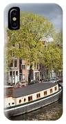 Amsterdam Canal Waterfront IPhone Case