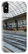 Amsterdam Central Station IPhone Case
