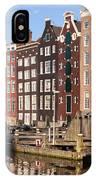 Amsterdam Houses Ar Sunset IPhone Case