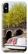 Amsterdam In Spring IPhone Case