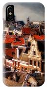 Amsterdam Roofs. View From Metz Cafe IPhone Case