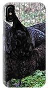 Amys Black Beauties IPhone Case