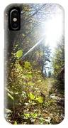 An Adult Woman Trail Running IPhone Case