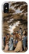 An Airing In Hyde Park, 1796 IPhone Case