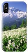 An Alpine Slope Turns White IPhone Case
