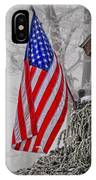 An American Christmas IPhone Case