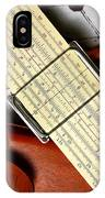 An Analytical Anomaly IPhone Case