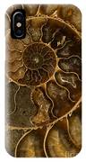 An Ancient Ammonite Pattern II IPhone Case